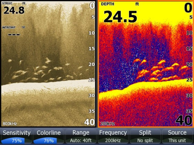 muskiefirst | lowrance vs. humminbird? » muskie boats and motors, Fish Finder