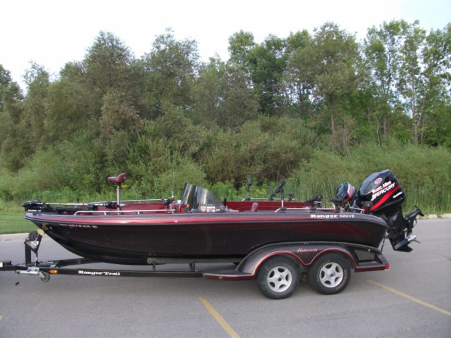 Used ranger boat walleye autos post for Walleye fishing boats for sale