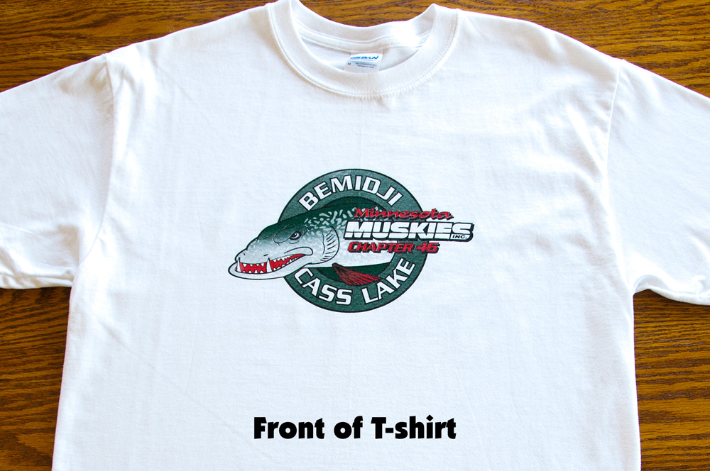 Muskiefirst Muskie T Shirts 187 Lures Tackle And