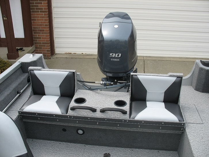 MuskieFIRST | seat/casting deck » Muskie Boats and Motors