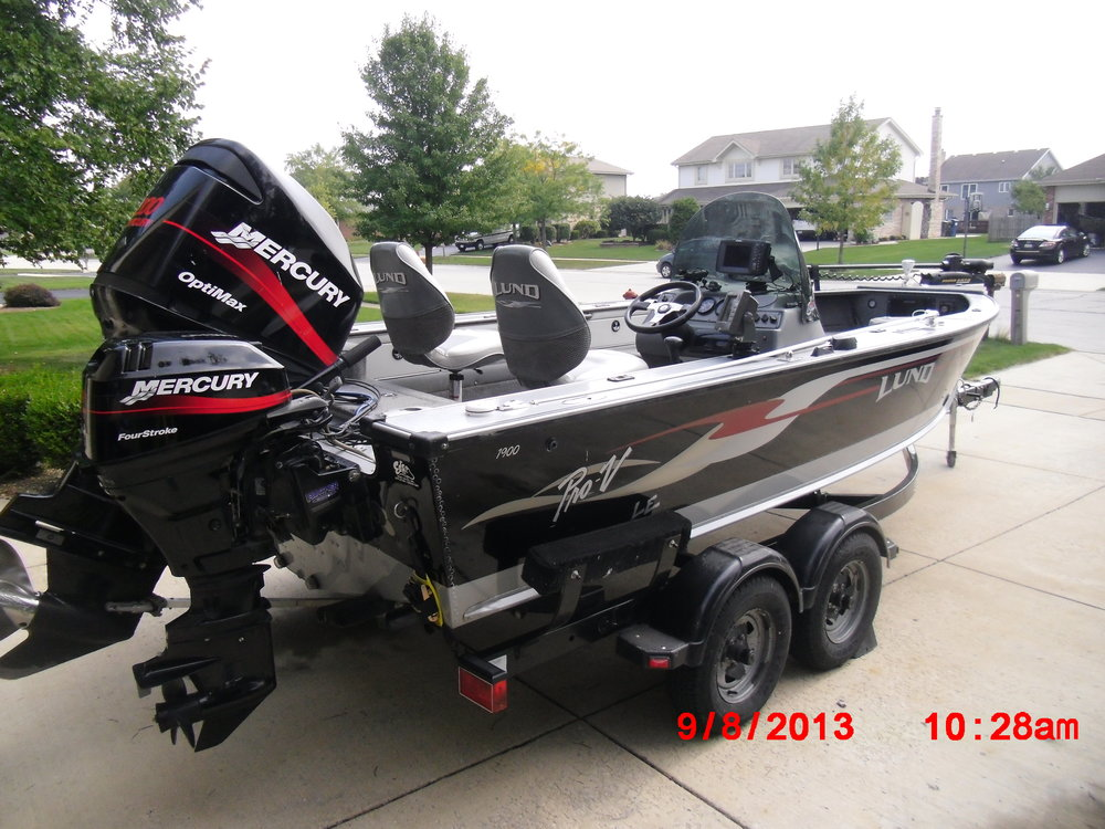 New Lenox Motors >> MuskieFIRST   Show us your musky rig » Muskie Boats and ...
