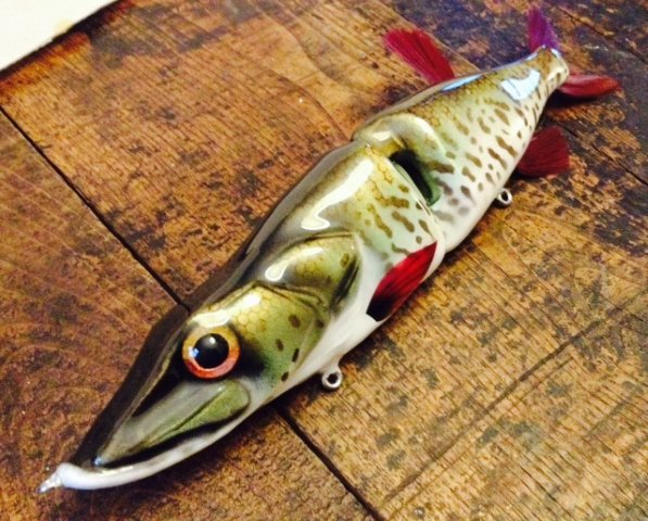 Muskiefirst best paint jobs on lures lures tackle for Fishing lure paint
