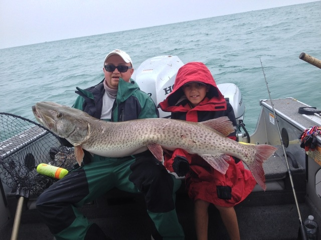 Best time for muskies ohio game fishing your ohio for Ohio fishing expo